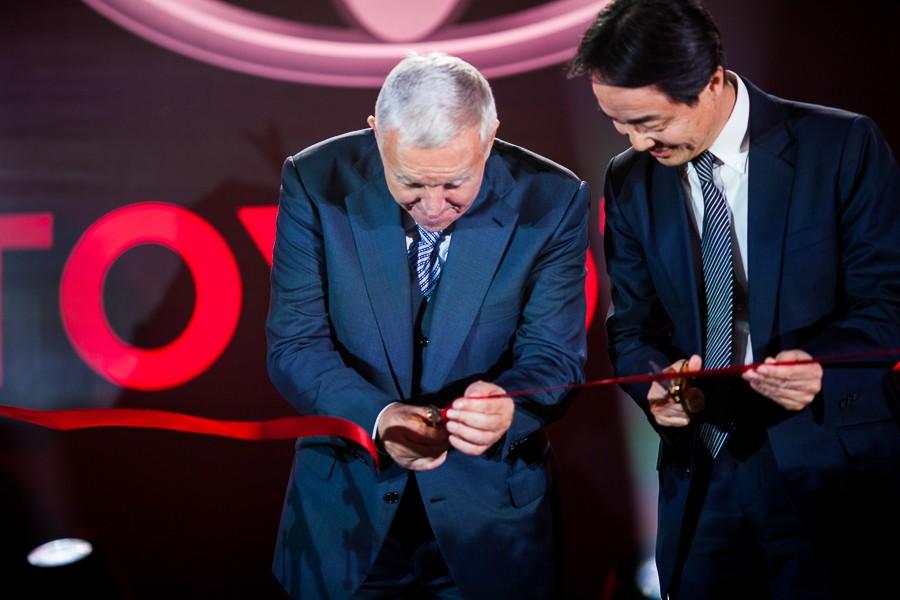 Открытие салона Toyota